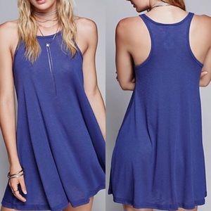 Free People Beach French Blue Dress Sz SP